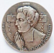Insigne Religieux Catholique PELERINAGE MONTFORTAIN ORIGINAL Catholic Badge