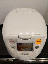 Zojirushi Micom NS-WXC18 10 Cup Rice Cooker Sushi Porridge Brown Warmer Timer
