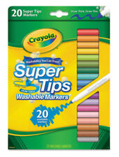 Crayola Supertips Washable Markers 20 PK Assorted Colours