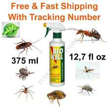 insecticide bio kill eco friendly 375 ml 12,7 fl oz flea tick mosquito spider