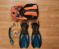 Us Divers Junior Snorkel Set with Bag Xl-3-6