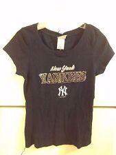 WOMEN'S NEW YORK YANKEES T-SHIRT SIZE L. BLACK