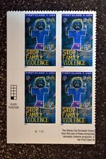 2003USA #B3 Forever - Stop Family Violence - Semipostal - Plate Block of 4