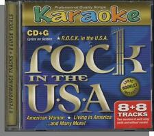 Karaoke CD+G - ROCK in the U.S.A. - New 8 Song CD! American Woman, Like a Rock