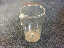 Dyson dc04 polvere bin. plastica trasparente in perspex FILTRO CONTENITORE CICLONE. lo sporco a tamburo