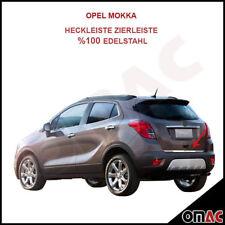 Opel Mokka Mokka X Trax Heckleiste Untere Kofferraumleiste Edelstahl Chrom
