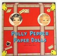 Polly Pepper Paper Dolls Rare Shackman