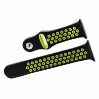 Silicone Wrist Bracelet Sport Band Strap  Replacement  For  Watch  42mm