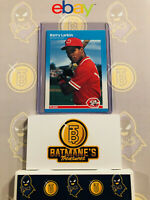 1987 Fleer Barry Larkin #204 Rookie RC MINT Baseball Card PSA/GMA/Becket Ready!