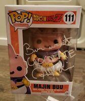 Josh Martin Dragon Ball Z Majin Buu #111 Signed JSA Funko Pop