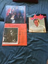 Lot Of 3 Vintage Record Albums # 4