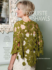 Annie's Attic Exquisite! Crocheted Shawls Timeless Beauties Crochet Pattern Book