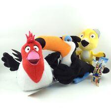3X Rio the Movie Plush Toy Rafael & Nico & Pedro Toucan Bird Stuffed Animal New