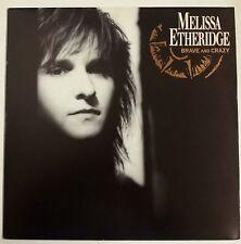 Melissa Etheridge Brave and Crazy LP UK