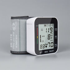 Digital Wrist High Blood Pressure Monitor Voice Talking BP Cuff Meter Machine US