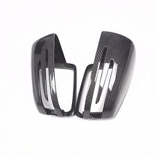 for Mercedes AMG S65 S63 10-13 car mirror cover ABS + carbon fiber Replacement