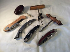 An owners collection of 7 wine bottle Openers