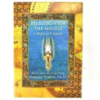 ORACLE CARDS Healing With The Angels 44-Card Deck & Booklet by Doreen Virtue EUC