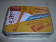 NEW SEALED ORIGINAL WORKSHOP OLD TIME RECORDER & HARMONICA MUSICAL INSTRUMENTS >