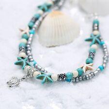 Sea Star Ankle Bracelet Hawaiian Style Beach Foot Jewelry for Women Girl