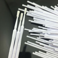 1000 PCS Dental Disposable Micro Applicator Brush White Color Size 1.2 mm