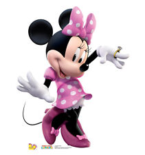 MINNIE MOUSE DANCE-PINK DRESS- LIFE SIZE STAND UP FIGURE MICKEY MOUSE DISNEY KID