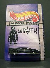 """Custom HotWheels INTERCEPTOR and package of  """"Movie Metal""""  from THE WRAITH"""
