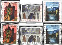 Luxemburg 703-708 (kompl.Ausg.) postfrisch 1964 Caritas