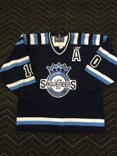 QMJHL Chicoutimi Sagueneens game-worn jersey