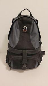 Tamrac SAS Adventure Backpack Camera Case Accessory Bag Black Gray Hiking Trek