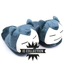 POKEMON SNORLAX CIABATTE pantofole Ronflex Relaxo chaussons peluche slippers hat