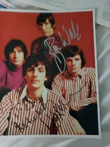 Roger Waters and Nick Mason signed autographed 8 x 10 Pink Floyd authentic