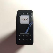 HALO SWITCH - AMBER / ORANGE LIGHT CAN-AM MAVERICK COMMANDER ROCKER X3 DEFENDER