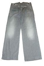 NWT TWENTY8TWELVE  Indigo Alain Flare Wide Leg Jeans Gray Cotton Size 29