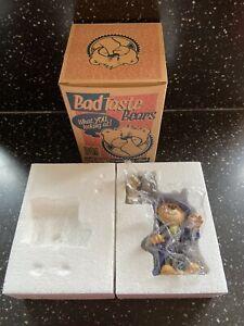 BAD TASTE BEARS GROTBAGS BNIB 2012 RARE BTB FUNDRAISING FOR ANIMAL RESCUES