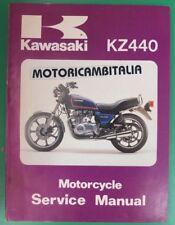 KAWASAKI KZ440 LTD Z440 Z 440 MANUALE OFFICINA MANUAL WORKSHOP SERVICE HANDBOOK