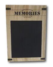 Kreidetafel Wandtafel Memotafel Schreibtafel Tafel Holz Vintage Retro Nostalgie