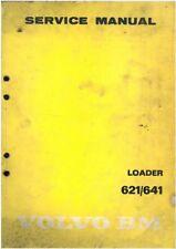 Volvo BM Wheel Loader 621 & 641 Workshop Service Manual
