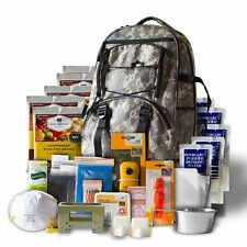 NEW Survival Backpack Camo 5 Day Emergency Food Water Fire First Aid Bug Out Bag