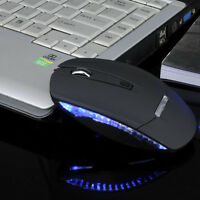 Slim 1600DPI Wireless 2.4G Optical Mouse Mice + Receiver For PC Laptop Tide