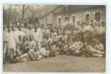 CARTE PHOTO MILITAIRE A AUXERRE 1913