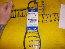 New 83-11 Chevrolet Suzuki Pontiac Carquest K040320 Micro-V AT Serpentine Belt
