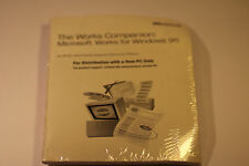 THE WORKS COMPANION MICROSOFT WORKS FOR WINDOWS 95 VERSION 4.5