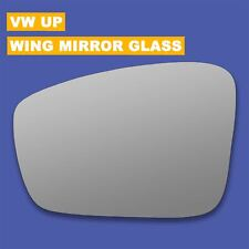 For VW UP wing mirror glass 11-17 Left Passenger side Spherical