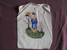 #1150 Beautiful Vintage Embroidery 21cm/27cm(8''x10.5'')