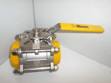 Industry-Std 1WMV4 Ball Valve 1//2 1000PSI
