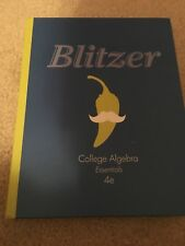 Math textbooks ebay college algebra essentials by robert f blitzer 2012 hardcover fandeluxe Gallery