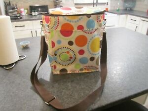 thirty one super cool market cooler circle spirals retired print large L@@K!