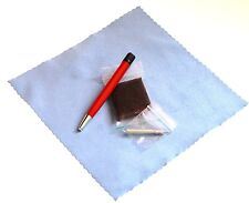 Satin / Brushed Refinish Pad  & Pen for Cartier Francais Brushed Steel Finishes