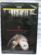 Dvd Movie The Blair Witch Project - Out In The Woods Horror Film Scary As Hell